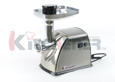 Çin 0.5 HP Industrial / Commercial Automatic Meat Grinder Heavy Duty Electric 400W Tedarikçi