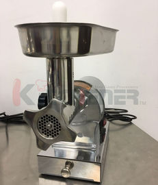 Çin Beef  Electric Meat Grinder With Sausage Stuffer Foot Pedal Control 3 Grinding Plates Fabrika